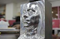Artistic Bust - Man's face using STL data!