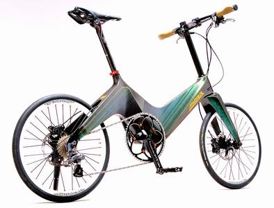 カーボンファイバー(炭素繊維製)フレーム自転車