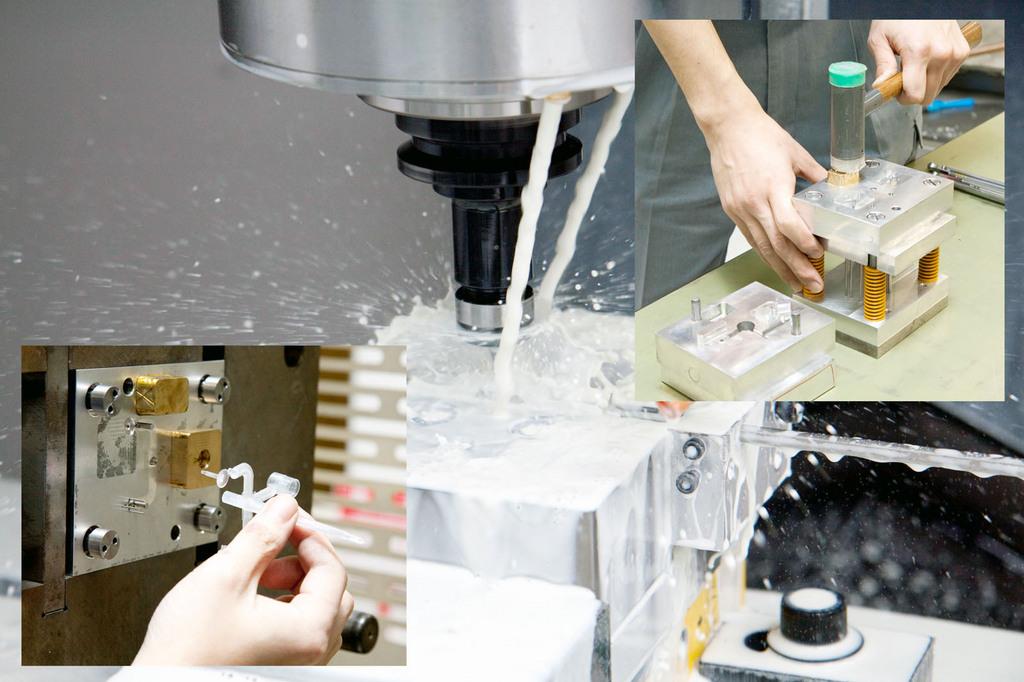 簡易金型 アルミ型 製作から 射出成形 まで一貫して対応します 【 小 ...